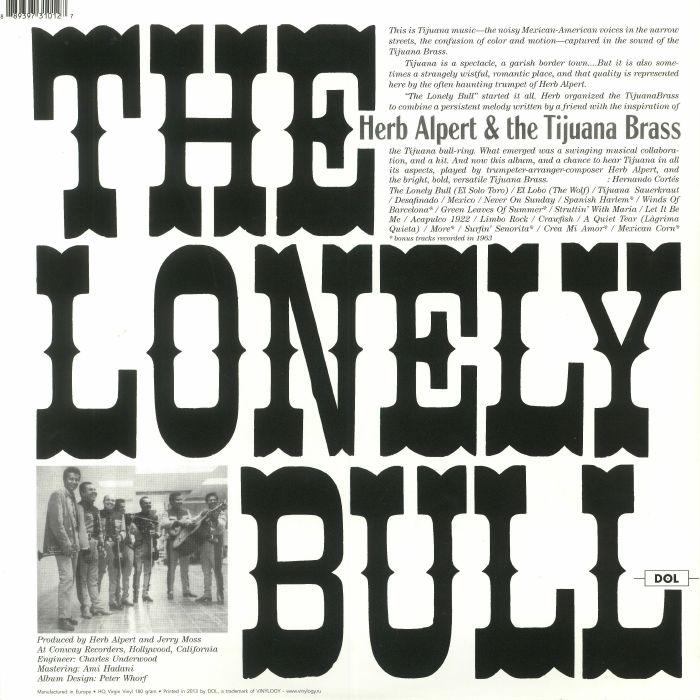 ALPERT, Herb & THE TIJUANA BRASS - The Lonely Bull (reissue)