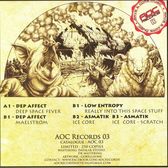 DEP AFFECT/LOW ENTROPY/ASMATIK - AOC 03