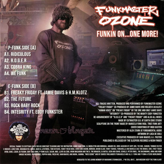 FUNKMASTER OZONE - Funkin On One More!