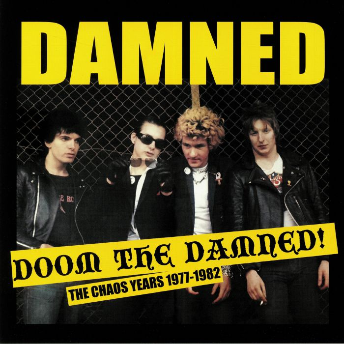 DAMNED, The - Doom The Damned: The Chaos Years 1977-1982