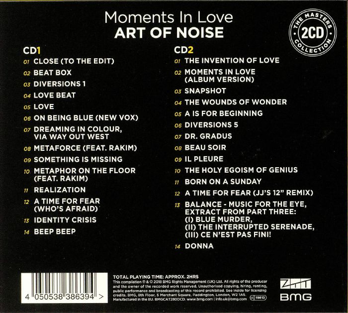 ART OF NOISE - Moments In Love