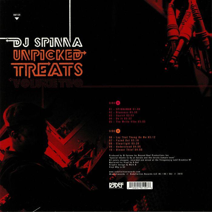 DJ SPINNA - Unpicked Treats: Vol 2