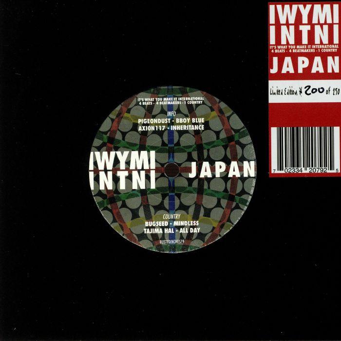 PIGEONDUST/AXION117/BUGSEED/TAJIMA HAL - IWYMI INTNl: Japan