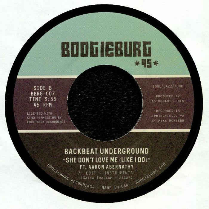 BACKBEAT UNDERGROUND feat AARON ABERNATHY - She Don't Love Me (Like I Do)