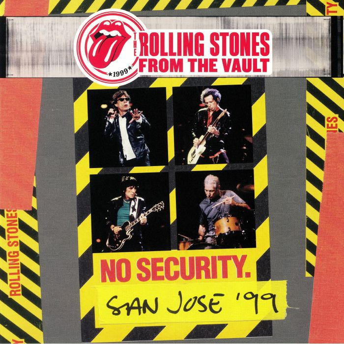 ROLLING STONES, The - From The Vault No Security San Jose '99