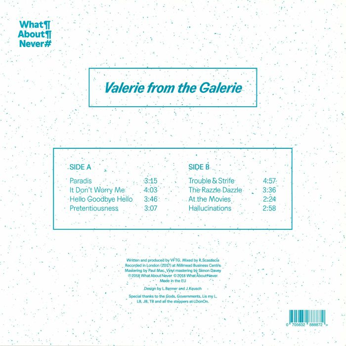 VALERIE FROM THE GALERIE - Tape One