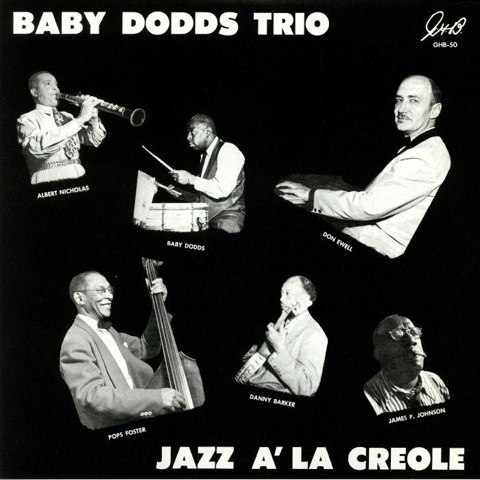 BABY DODDS TRIO - Jazz A La Creole