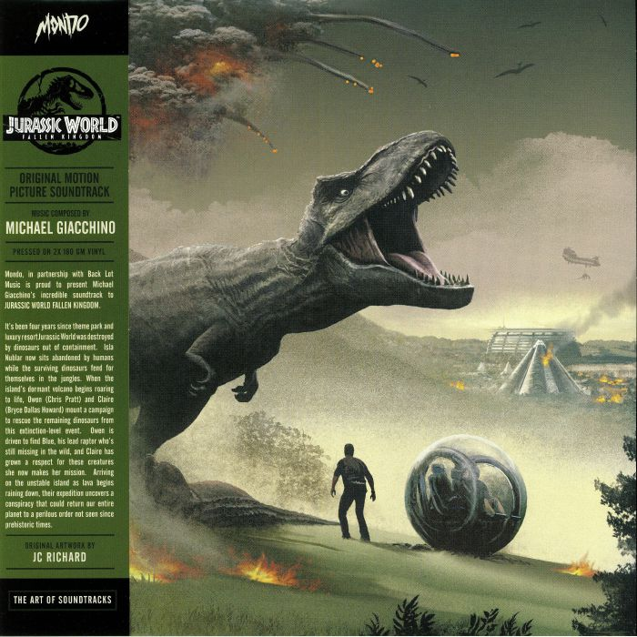 GIACCHINO, Michael - Jurassic World: Fallen Kingdom (Soundtrack)