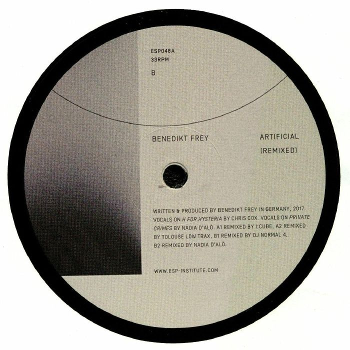 FREY, Benedikt - Artificial: Remixed