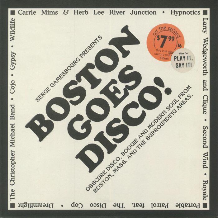 GAMESBOURG, Serge/VARIOUS - Boston Goes Disco!