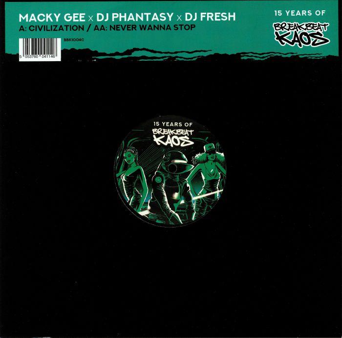 GEE, Macky/DJ PHANTASY/DJ FRESH - Civilization