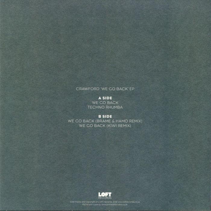 CRAWFORD - We Go Back EP