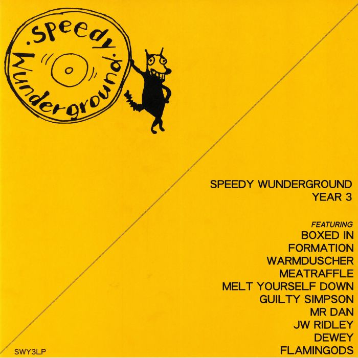VARIOUS - Speedy Wunderground: Year 3