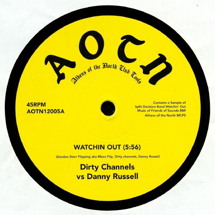 DIRTY CHANNELS vs DANNY RUSSELL/FRAZELLE - Watchin Out