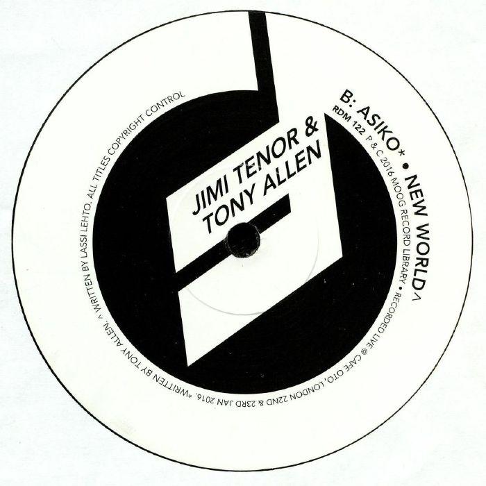 TENOR, Jimi/TONY ALLEN - OTO Live Series