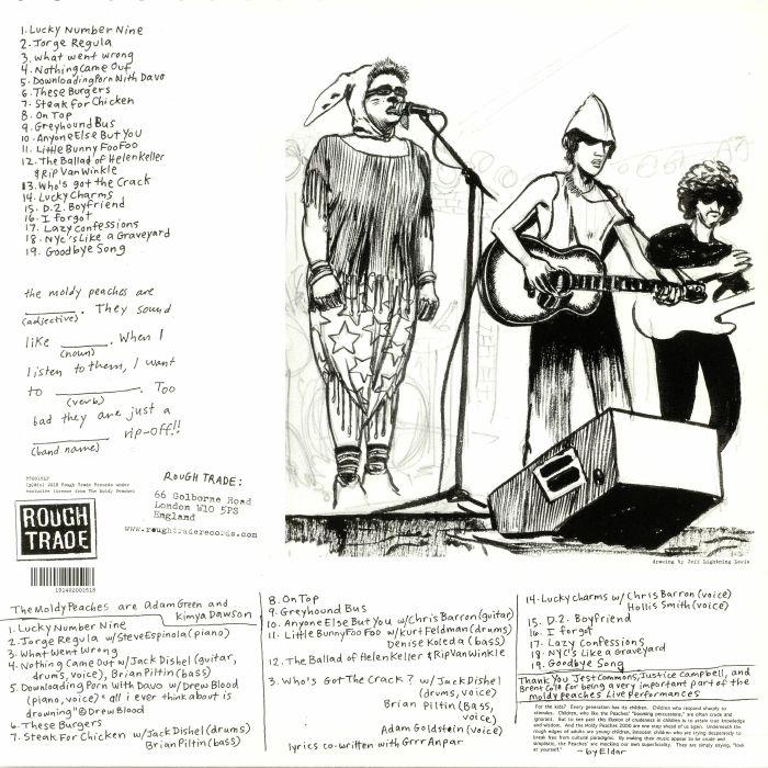 MOLDY PEACHES, The - The Moldy Peaches (reissue)