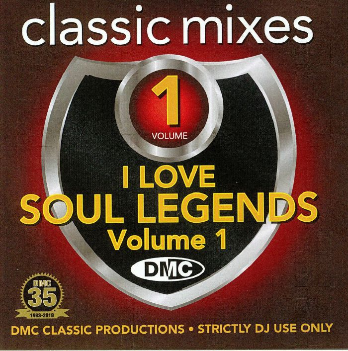 VARIOUS - Classic Mixes: I Love Soul Legends Vol 1 (Strictly DJ Only)