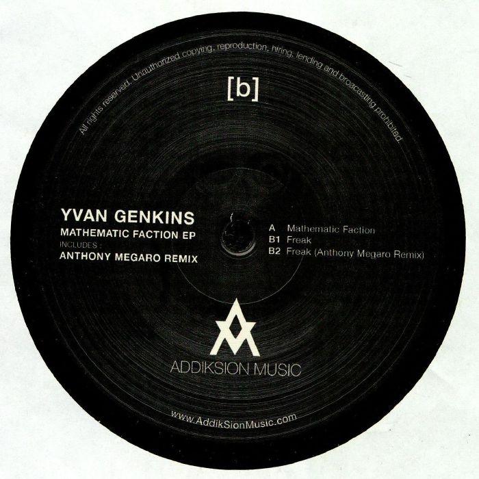 GENKINS, Yvan - Mathematic Faction EP