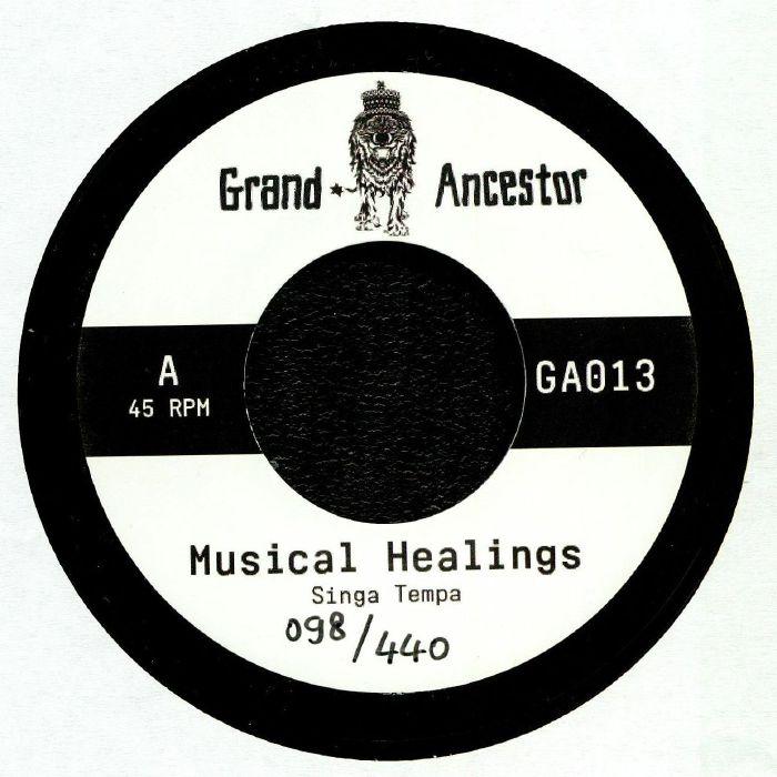 SINGA TEMPA/DOUGLAS WARDROP - Musical Healings