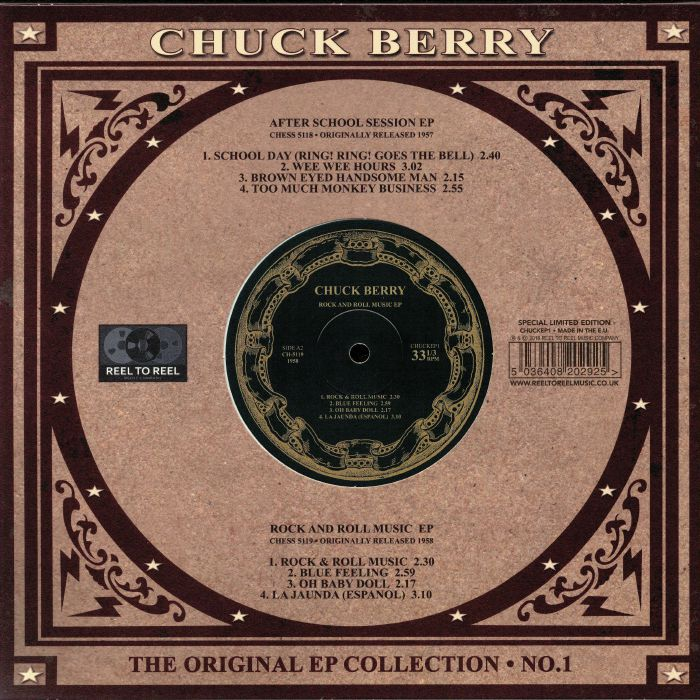 BERRY, Chuck - The Original EP Collection No 1