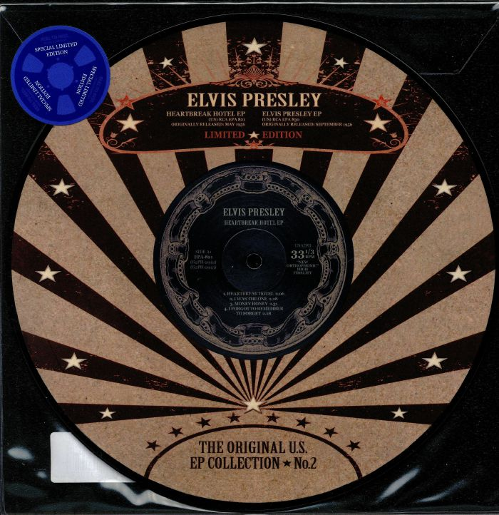 PRESLEY, Elvis - The Original US EP Collection 2