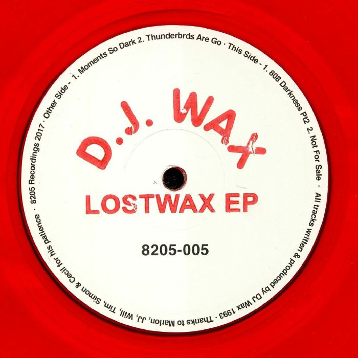 DJ WAX - Lostwax EP