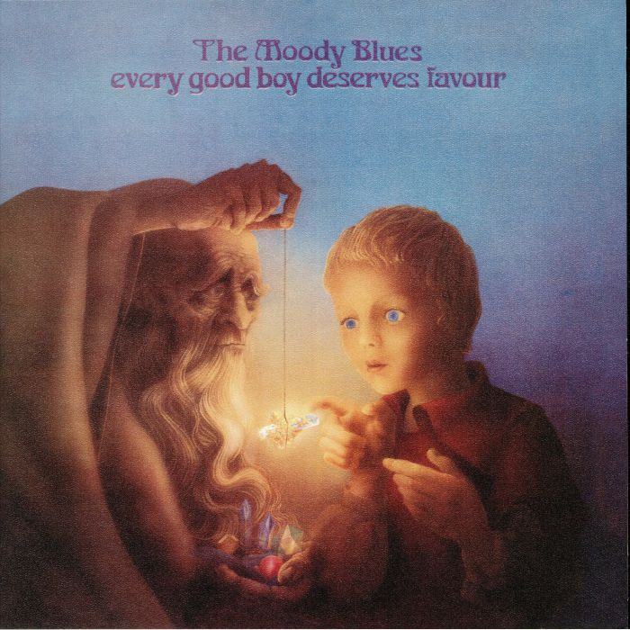 MOODY BLUES, The - Every Good Boy Deserves Favour (reissue)