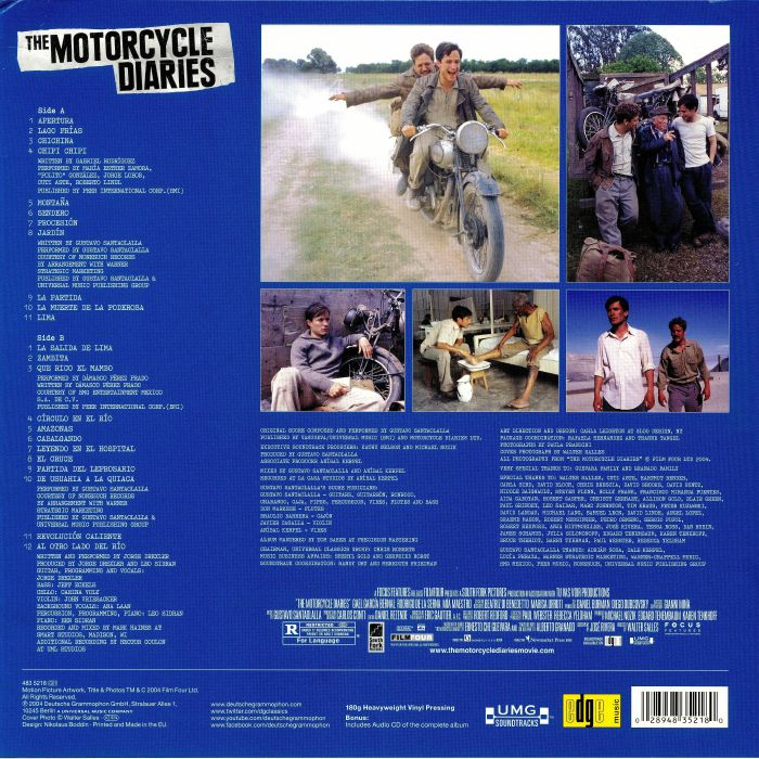 SANTAOLALLA, Gustavo - The Motorcycle Diaries (Soundtrack)