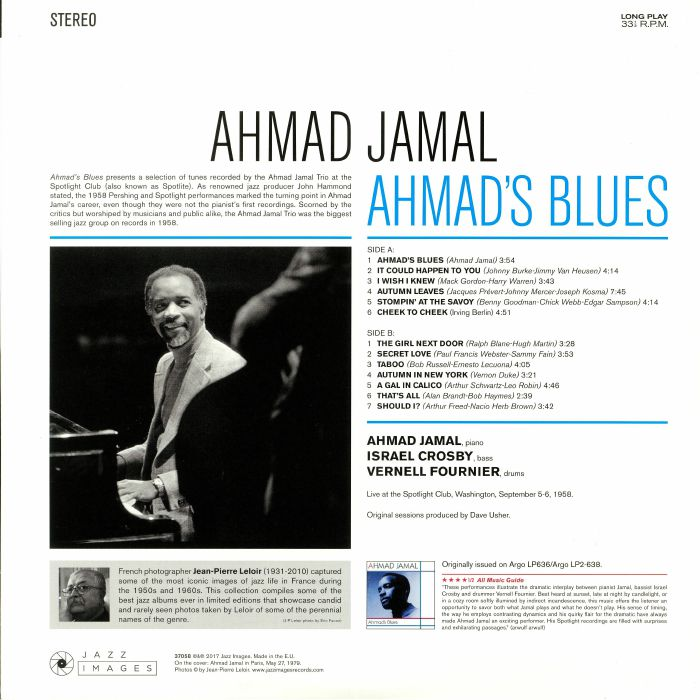 Ahmad JAMAL Ahmad s Blues vinyl at Juno Records
