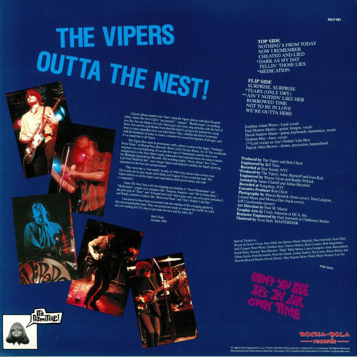 VIPERS, The - Outta The Nest!