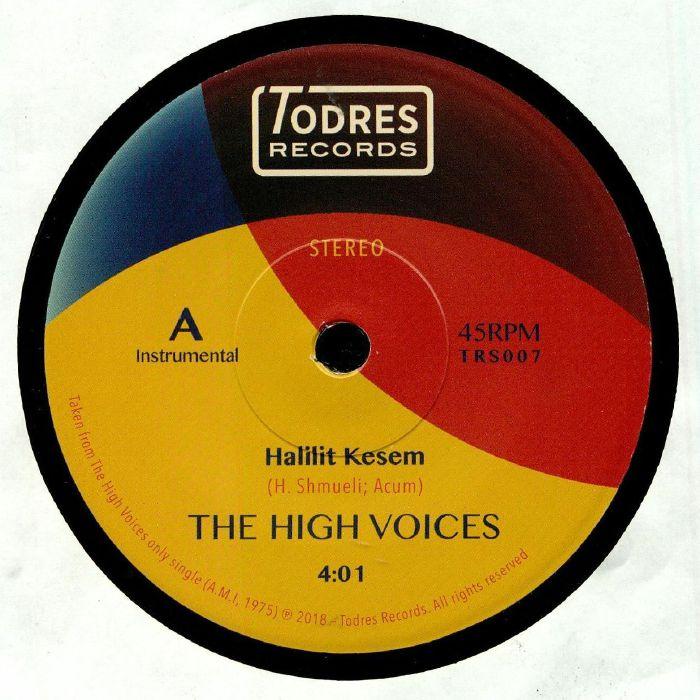 HIGH VOICES, The/SHLOMO GRONICH - Halilit Kesem (reissue)