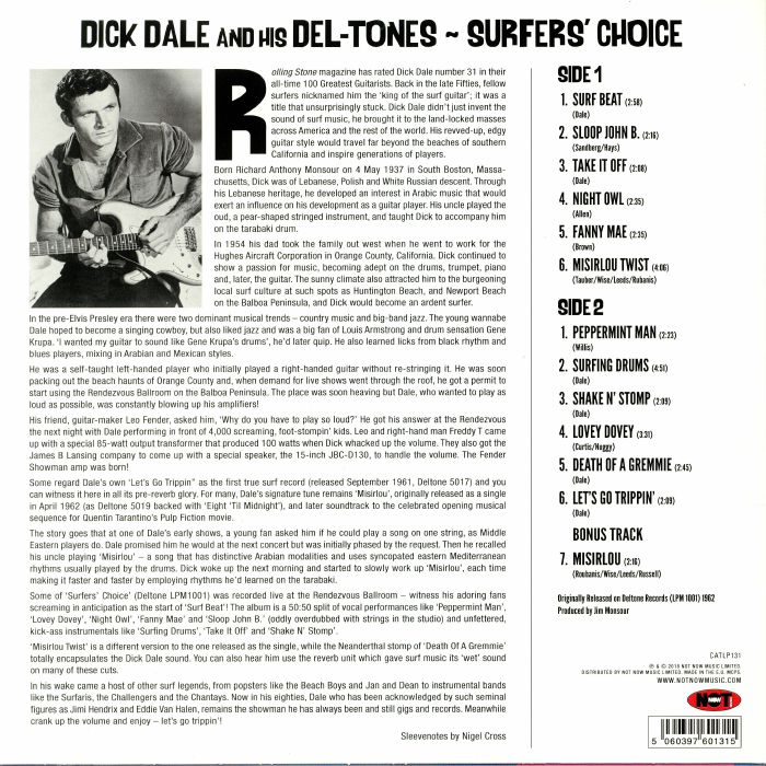 Still variants? dale dick his del tones are