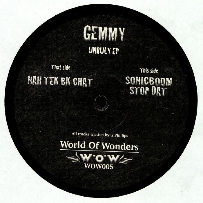 GEMMY - Unruly EP
