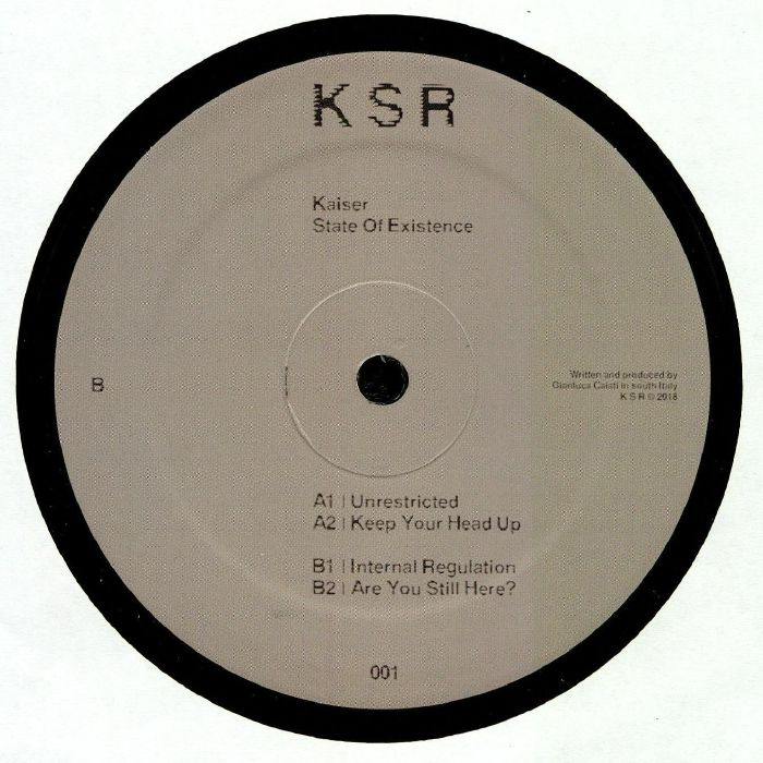 Kaiser State Of Existence Vinyl At Juno Records