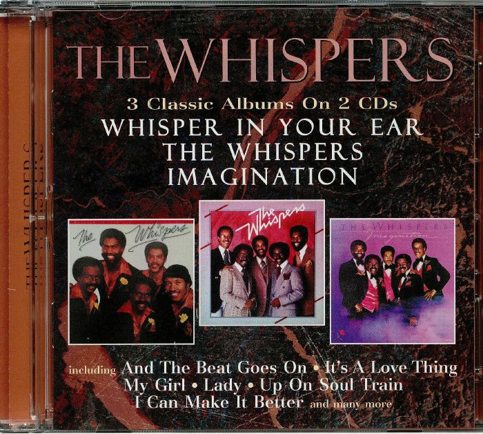 WHISPERS, The - Whisper In Your Ear/The Whispers/Imagination