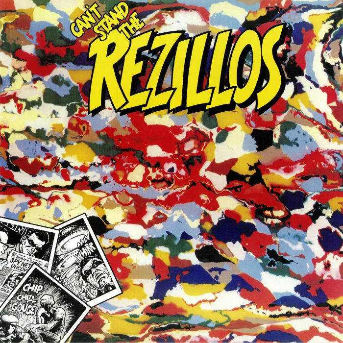 REZILLOS, The - Can't Stand The Rezillos (reissue)