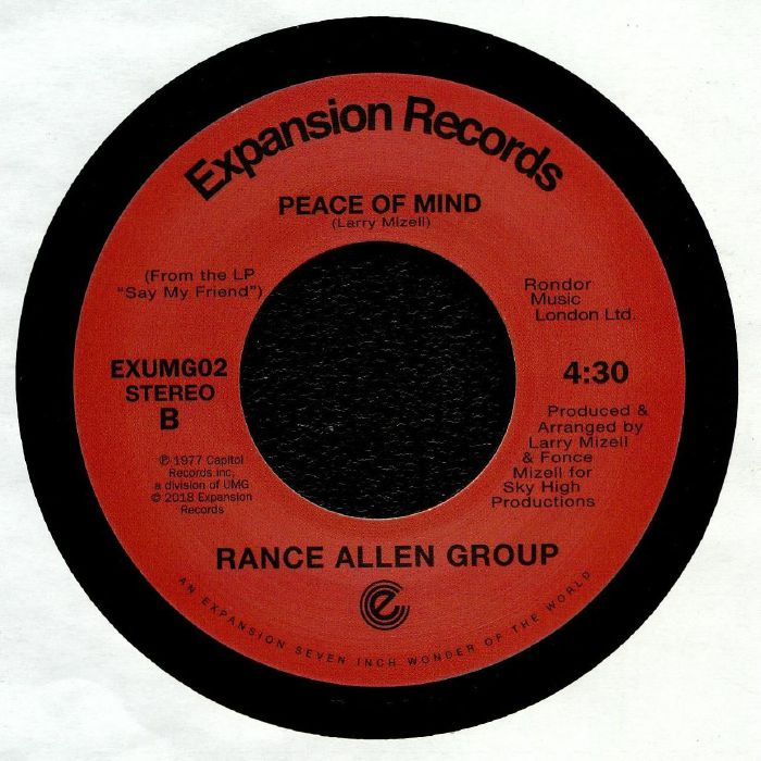 RANCE ALLEN GROUP - Reason To Survive
