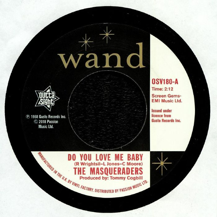 MASQUERADERS, The/THE GENTLEMEN FOUR - Do You Love Me Baby