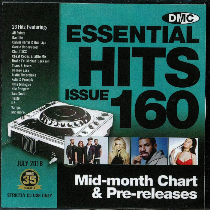 VARIOUS - DMC Essential Hits 160 (Strictly DJ only)