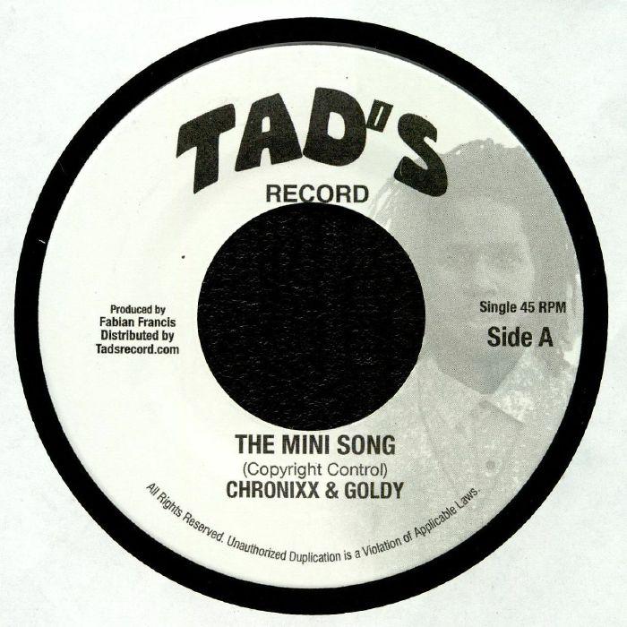 CHRONIXX/GOLDY - The Mini Song