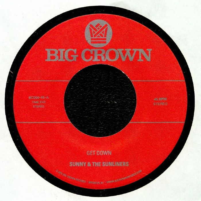 SUNNY & THE SUNLINERS - Get Down