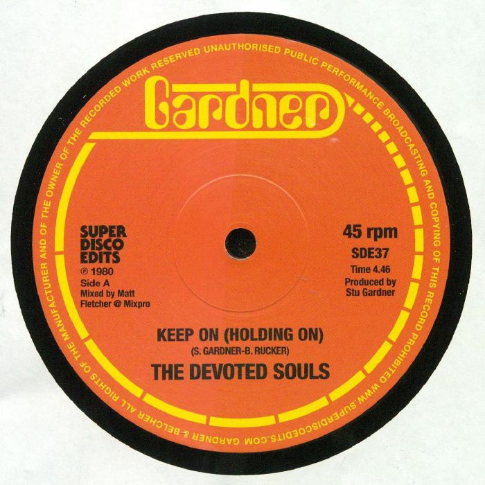 DEVOTED SOULS, The - Keep On (Holding On)