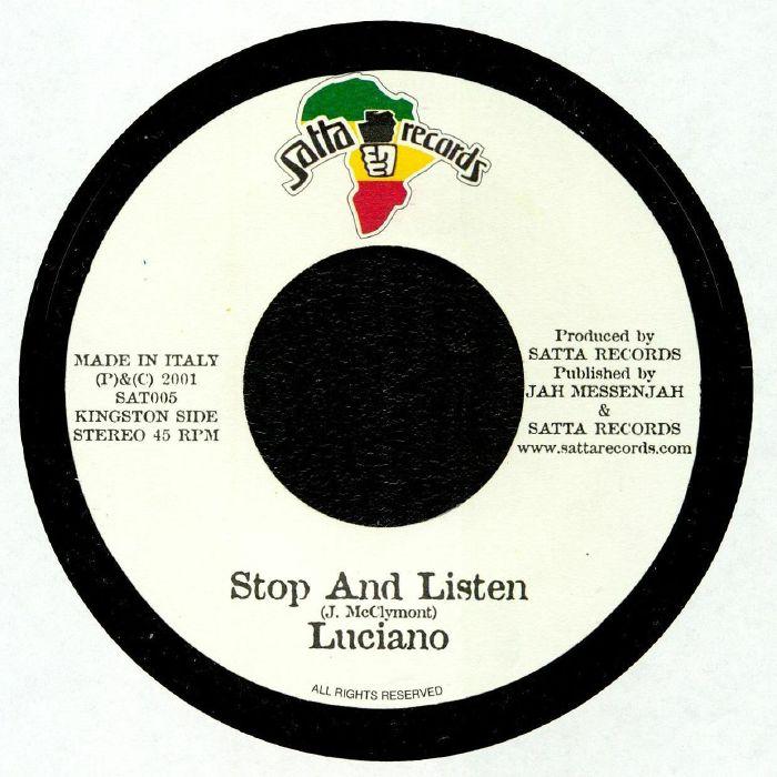 LUCIANO/TRIBU ACUSTICA - Stop & Listen