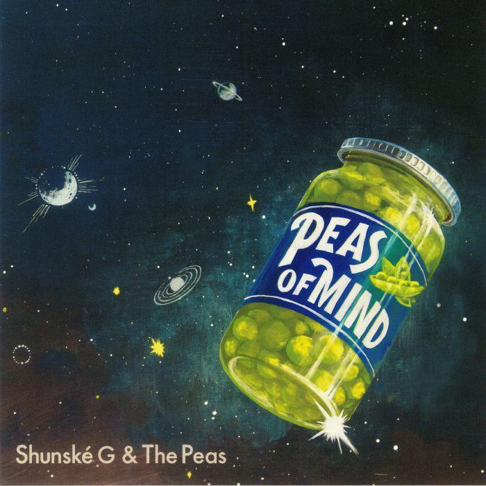 77358f29e09b SHUNSKE G & THE PEAS Peas Of Mind vinyl at Juno Records.