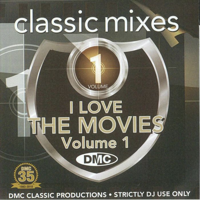 VARIOUS - DMC Classic Mixes: I Love The Movies Vol 1 (Strictly DJ Only)