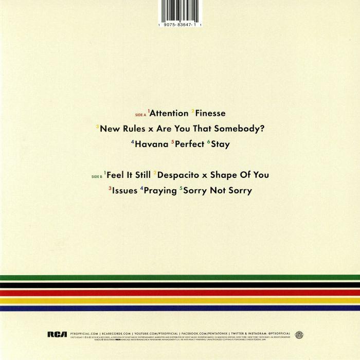 PENTATONIX - PTX Presents: Top Pop Vol 1