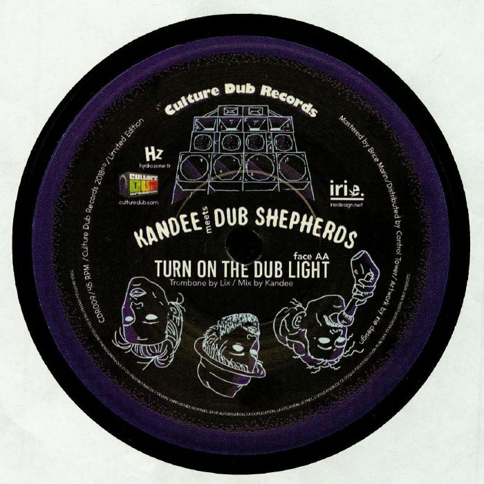 KANDEE meets DUB SHEPHERDS - Turn On The Red Light