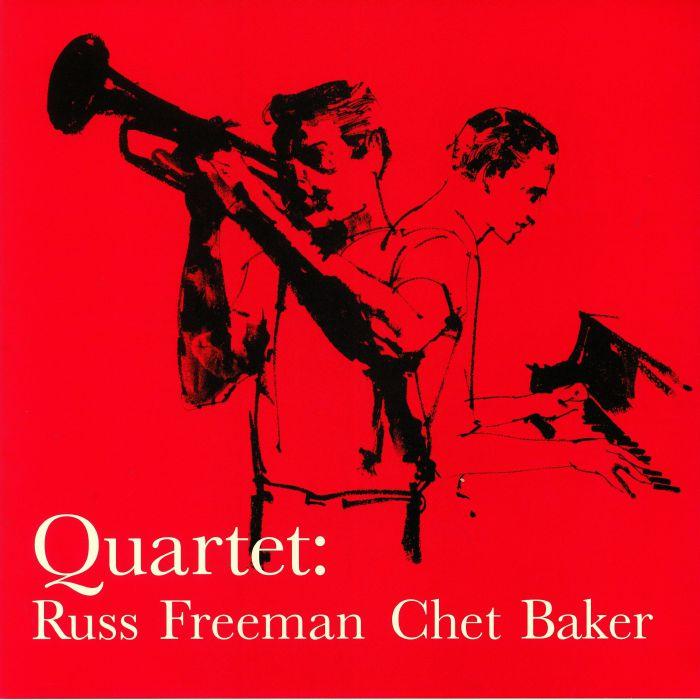 FREEMAN, Russ/CHET BAKER - Quartet: Russ Freeman & Chet Baker