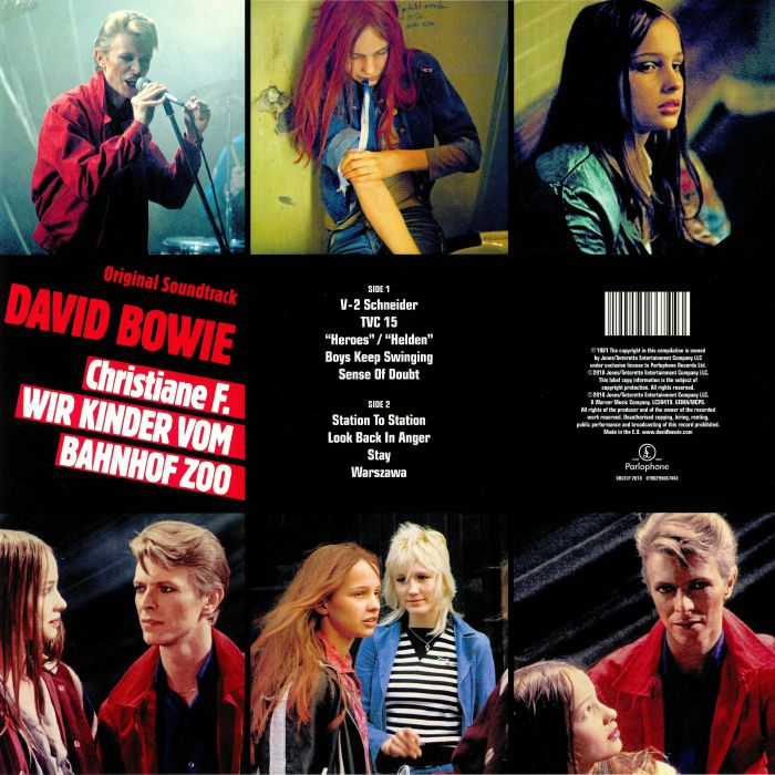 BOWIE, David - Christiane F Wir Kinder Vom Bahnhof Zoo (Soundtrack)