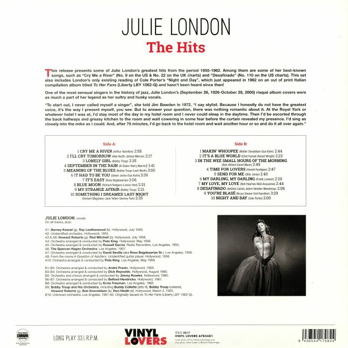 LONDON, Julie - The Hits